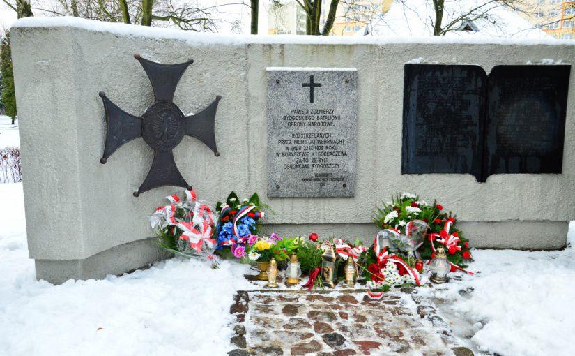 Uroczystości na Cmentarzu Bohaterów Bydgoszczy